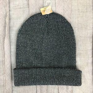 NWT American Eagle Metallic Knit Beanie Hat
